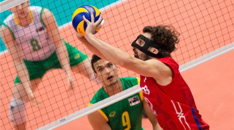основ техники волейбола